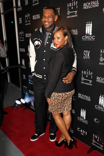 Savannah wore a sleek black blazer for celebration LeBron's birthday.