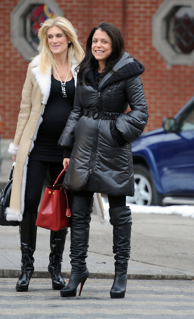 Bethenny Frankel Over The Knee Boots Bethenny Frankel