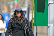 Bethenny Frankel Trenchcoat