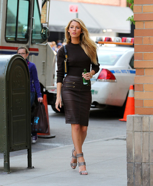 Blake Lively Pencil Skirt