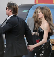 Angelina Jolie, who at one time famously wore a vial of Billy Bob Thorton's blood around her neck, also had his name tattooed on her arm above a dragon. After their break up, the star had it lasered off and replaced with the coordinates of her childrens births'.
