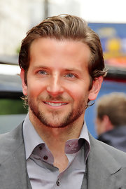 Bradley Copper showed off his slick short cut while walking the red carpet.