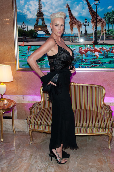 More Pics of Brigitte Nielsen Evening Dress (1 of 8) - Brigitte Nielsen Lookbook - StyleBistro