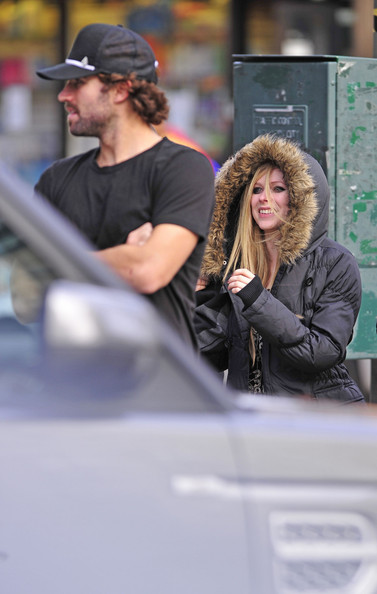 Avril Lavigne and Brody Jenner Walk Around NYC