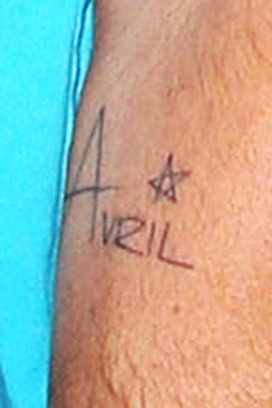 Brody Jenner Lettering Tattoo