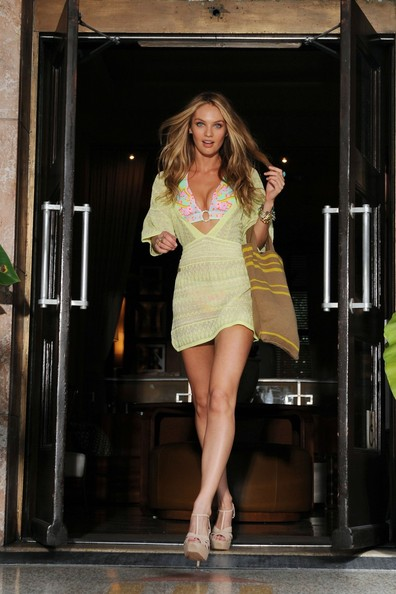 More Pics of Candice Swanepoel Cover-up (1 of 18) - Candice Swanepoel Lookbook - StyleBistro