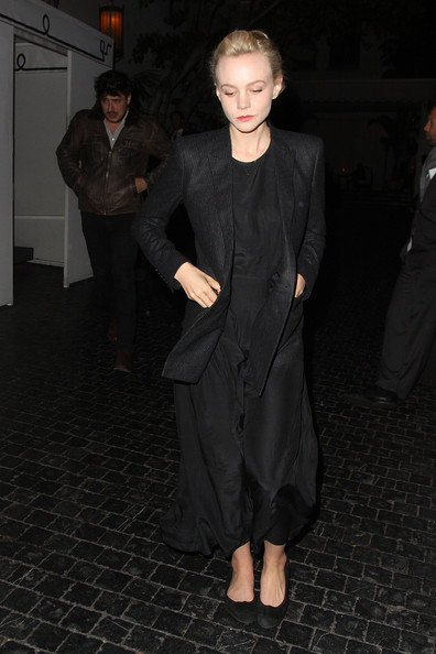More Pics of Carey Mulligan Pantsuit (2 of 7) - Carey Mulligan Lookbook - StyleBistro