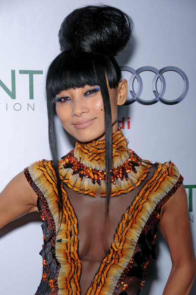 More Pics of Bai Ling Beaded Dress (1 of 11) - Beaded Dress Lookbook - StyleBistro