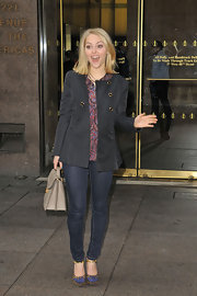 Annasophia Robb looked cute as can be in these fashion-foward skinnies.