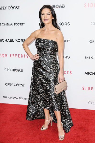More Pics of Catherine Zeta-Jones Leather Purse (1 of 8) - Evening Bags Lookbook - StyleBistro