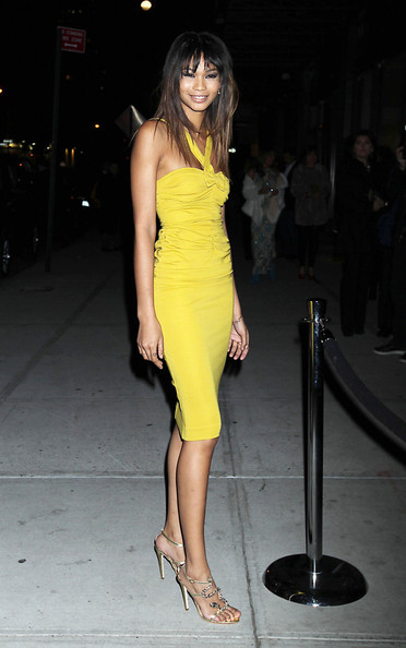 Chanel Iman Cocktail Dress