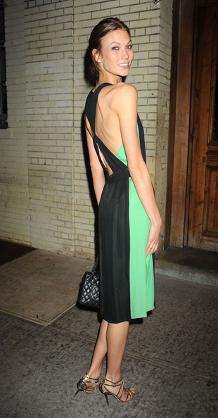 More Pics of Karlie Kloss Strappy Sandals (1 of 2) - Karlie Kloss Lookbook - StyleBistro
