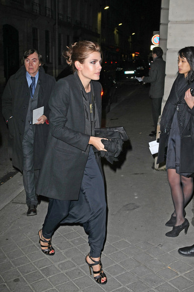 Charlotte Casiraghi Wool Coat