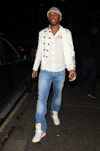 More Pics of Didier Drogba Classic Jeans (1 of 9) - Didier Drogba Lookbook - StyleBistro