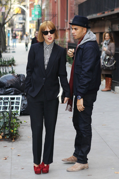 More Pics of Chloe Sevigny Pantsuit (1 of 26) - Pantsuit Lookbook - StyleBistro