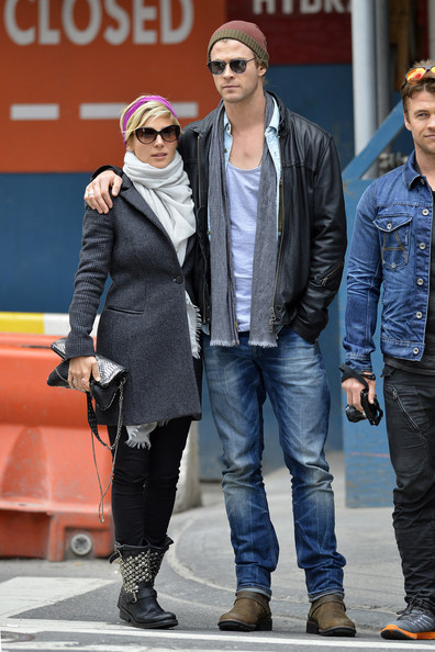More Pics of Elsa Pataky Studded Boots (1 of 15) - Elsa Pataky Lookbook - StyleBistro