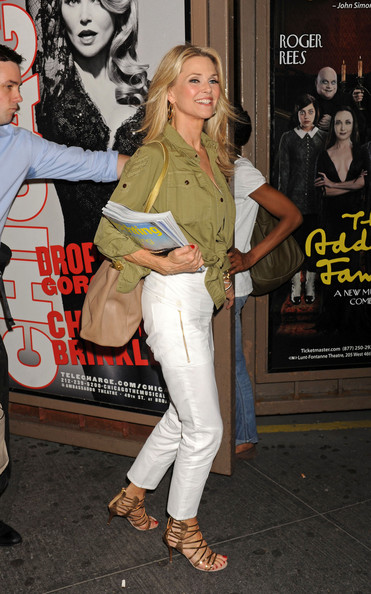 More Pics of Christie Brinkley Button Down Shirt (2 of 8) - Christie Brinkley Lookbook - StyleBistro