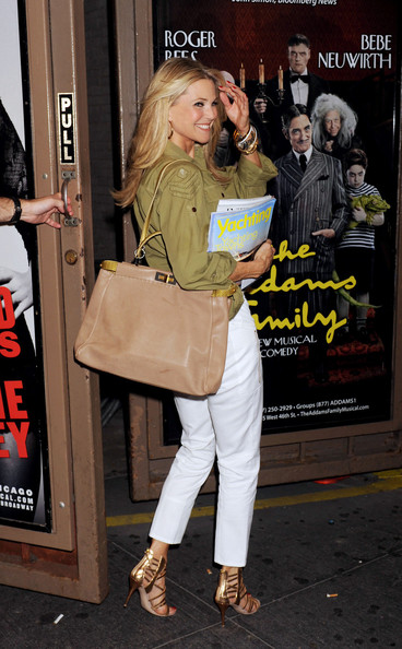 More Pics of Christie Brinkley Button Down Shirt (1 of 8) - Christie Brinkley Lookbook - StyleBistro