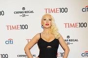 Christina Aguilera Evening Dress