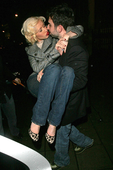 File Photos of Christina Aguilera and Jordan Bratman