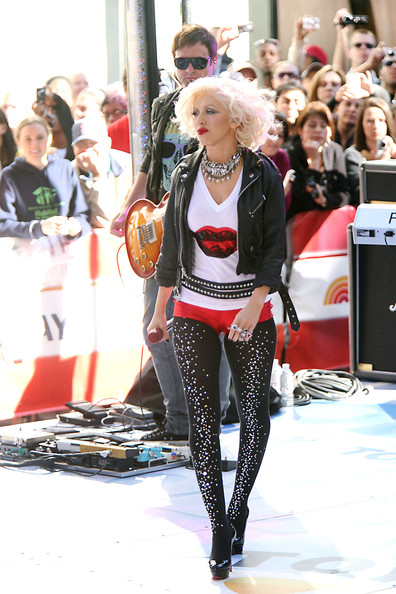 Christina Aguilera Tights