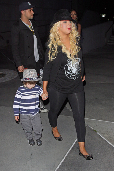 Christina Aguilera Leggings
