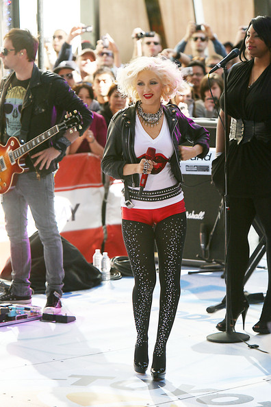Christina Aguilera Clothes