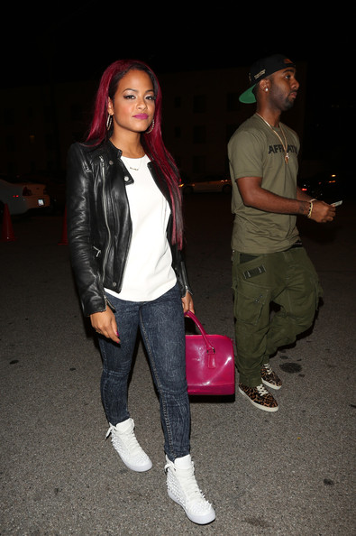 Christina Milian Leather Jacket