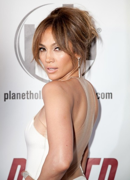 More Pics of Jennifer Lopez Evening Dress (5 of 6) - Jennifer Lopez Lookbook - StyleBistro