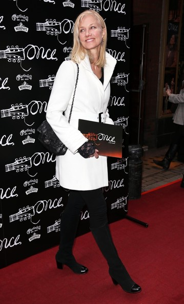 More Pics of Joely Richardson Wool Coat (1 of 3) - Joely Richardson Lookbook - StyleBistro
