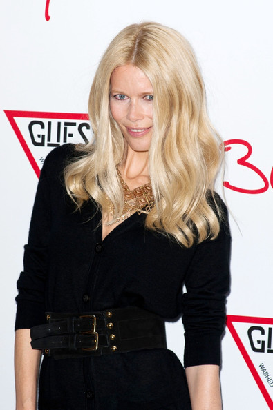 Claudia Schiffer at the GUESS 30th Anniversary