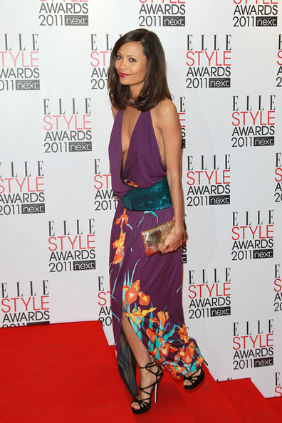 More Pics of Thandie Newton Metallic Clutch (1 of 4) - Thandie Newton Lookbook - StyleBistro