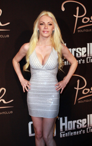 Crystal Harris Bandage Dress