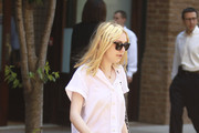 Dakota Fanning Shows off Summer's Trendy Colored Jeans
