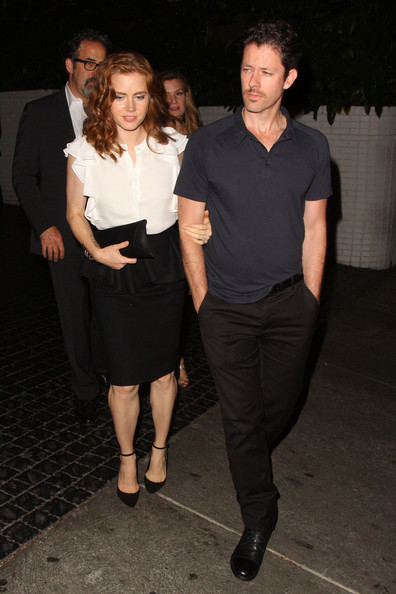 Amy Adams and Darren Le Gallo at the Chateau Marmont — Part 2