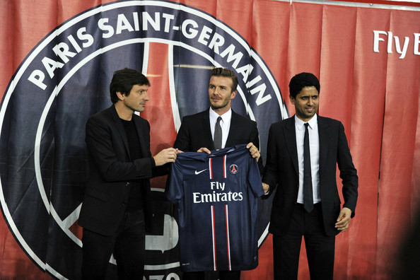 David Beckham Announces His New Contract