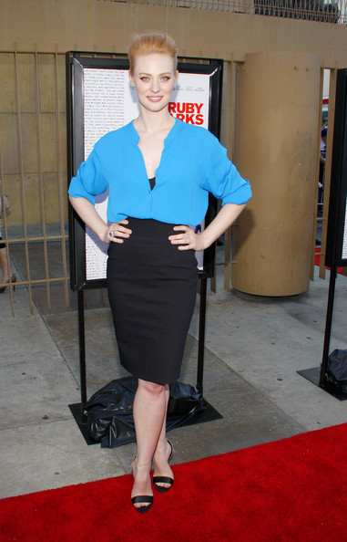 Deborah Ann Woll Pencil Skirt