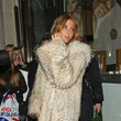 Millie Mackintosh in a Giant Fur Coat