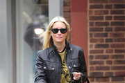 Denise van Outen Leather Jacket