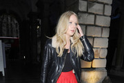 Diana Vickers Leather Jacket