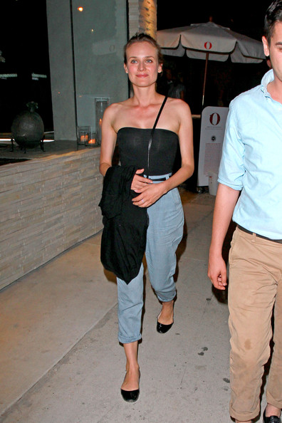 More Pics of Diane Kruger Slip-Ons (1 of 9) - Diane Kruger Lookbook - StyleBistro