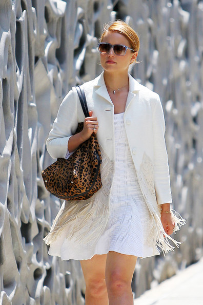 More Pics of Dianna Agron Wool Coat (1 of 7) - Dianna Agron Lookbook - StyleBistro