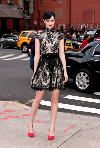 More Pics of Krysten Ritter Pumps (3 of 5) - Krysten Ritter Lookbook - StyleBistro