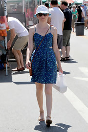 This cutout style is the perfect summer dress for a trip to the Farmer's Market!