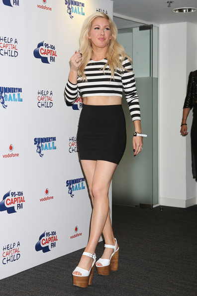 Ellie Goulding Mini Skirt