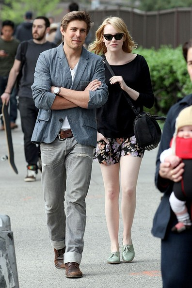 More Pics of Emma Stone Flat Oxfords (1 of 11) - Emma Stone Lookbook - StyleBistro