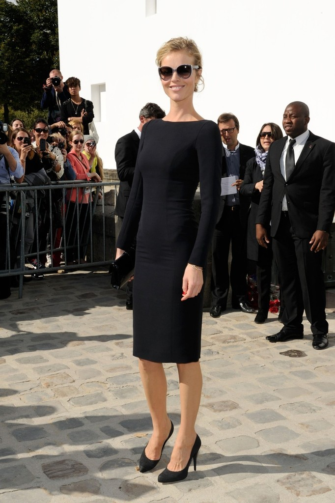 Eva Herzigova Little Black Dress Eva Herzigova Looks