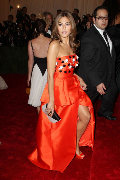 Eva Mendes Satin Purse
