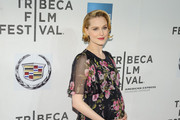 Evan Rachel Wood Maternity Dress