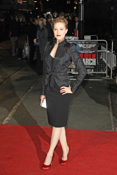 Evan Rachel Wood Evening Coat
